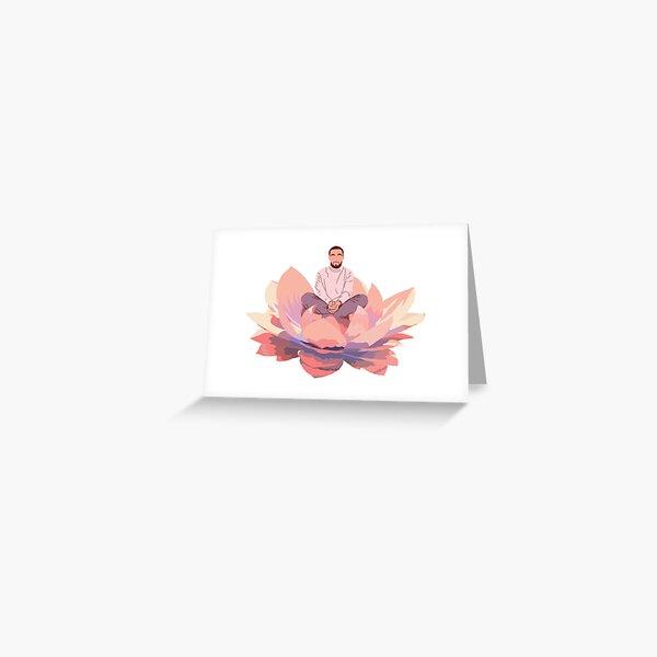 Gute Nachricht Mac Lotus Grußkarte