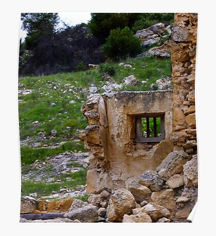 Ruins 2 - Lynton Convict Depot - Perth CBD - Western Australia Poster