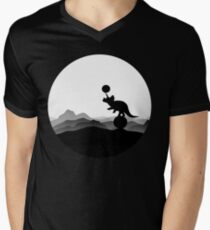 DINO CIRCUS - DINOSAUR AT THE CIRCUS - Dino collection V-Neck T-Shirt