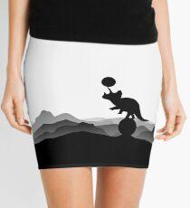 DINO CIRCUS - DINOSAUR AT THE CIRCUS - Dino collection Mini Skirt