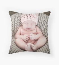 Sleeping. Throw Pillow