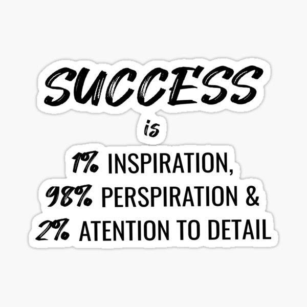 Success Definition - Phil Dunphy Sticker