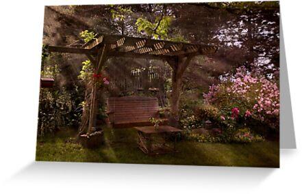 Backyard Oasis by Robin Webster