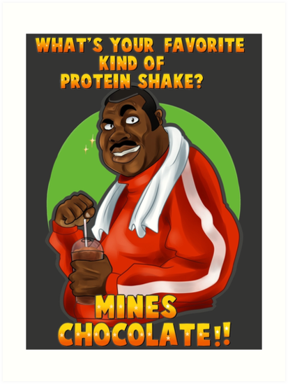Punch-Out!! : Doc's protein shake Tee by TangolaDude