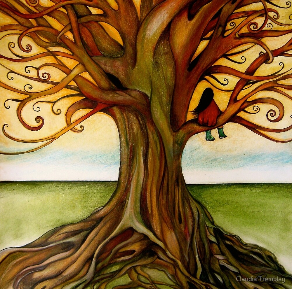 the infinite tree by Claudia Tremblay