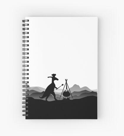 DINO COOK - Dinosaur Cooking Spiral Notebook