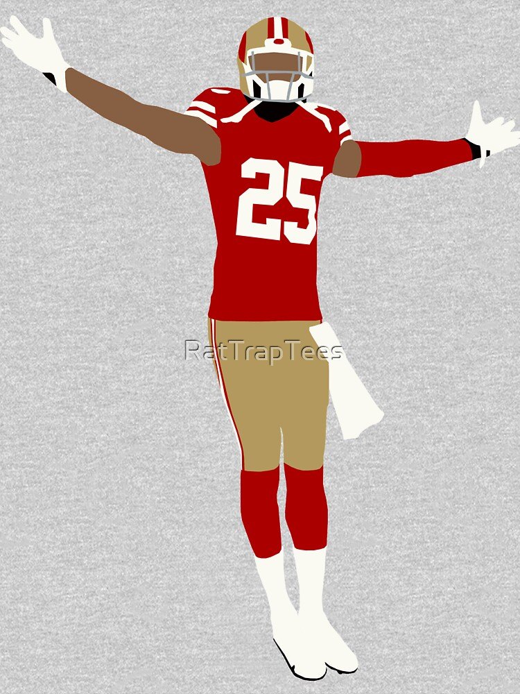Richard Sherman 49ers Celebration by RatTrapTees