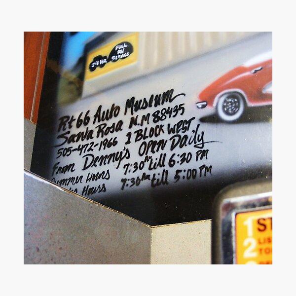Route 66 eye catcher Photographic Print