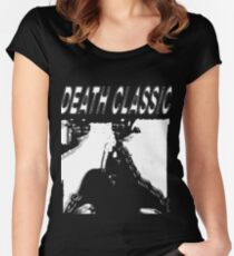 Death Classic (-Death Grips) Women's Fitted Scoop T-Shirt