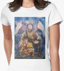 Fallen Soldier Angel Print T-Shirt