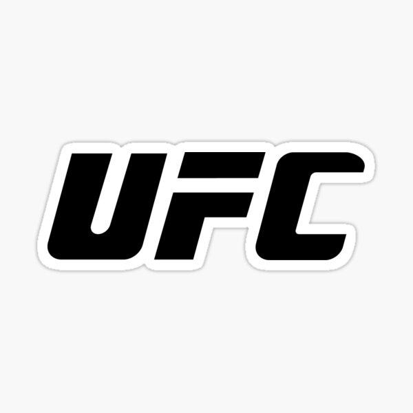 UFC Logo Sticker