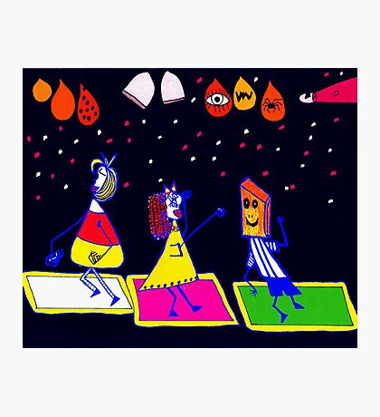Halloween Disco  Photographic Print