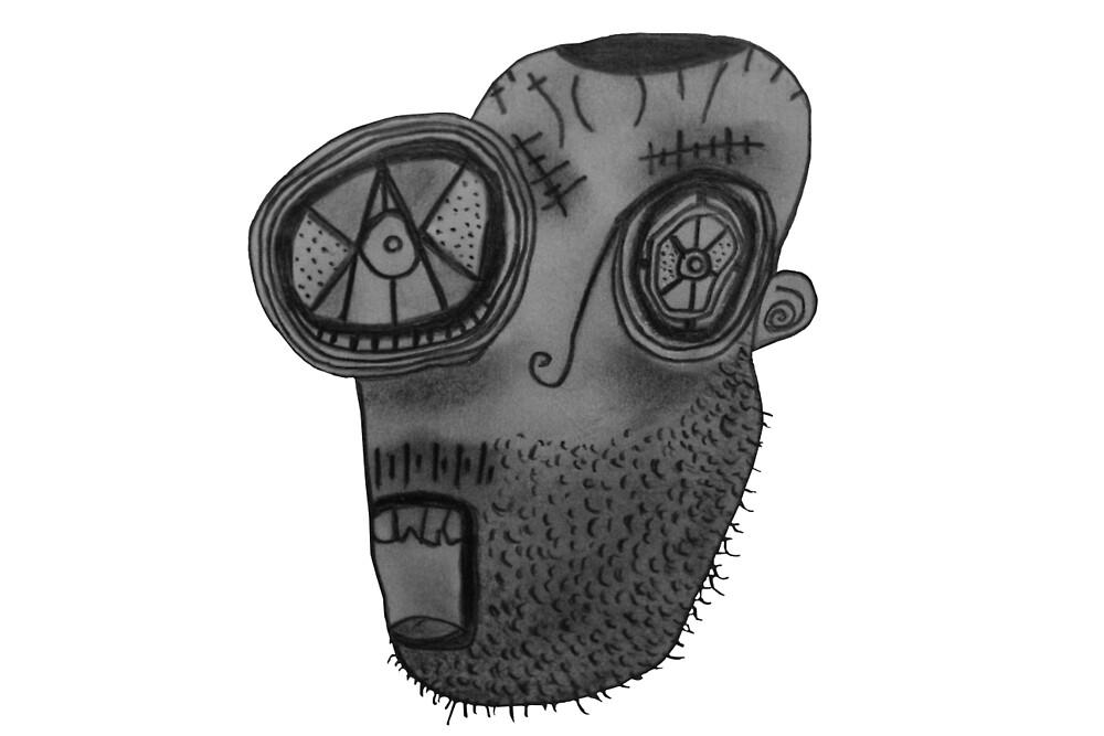 weirdo beardo  by wolfcity