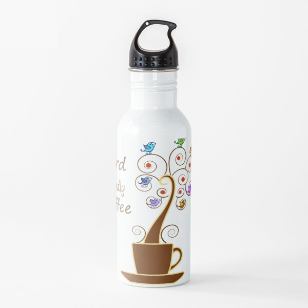 Save Birds' Habitats with Bird Friendly Coffee Water Bottle