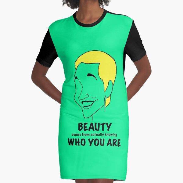 Ellen DeGeneres Quote Graphic T-Shirt Dress