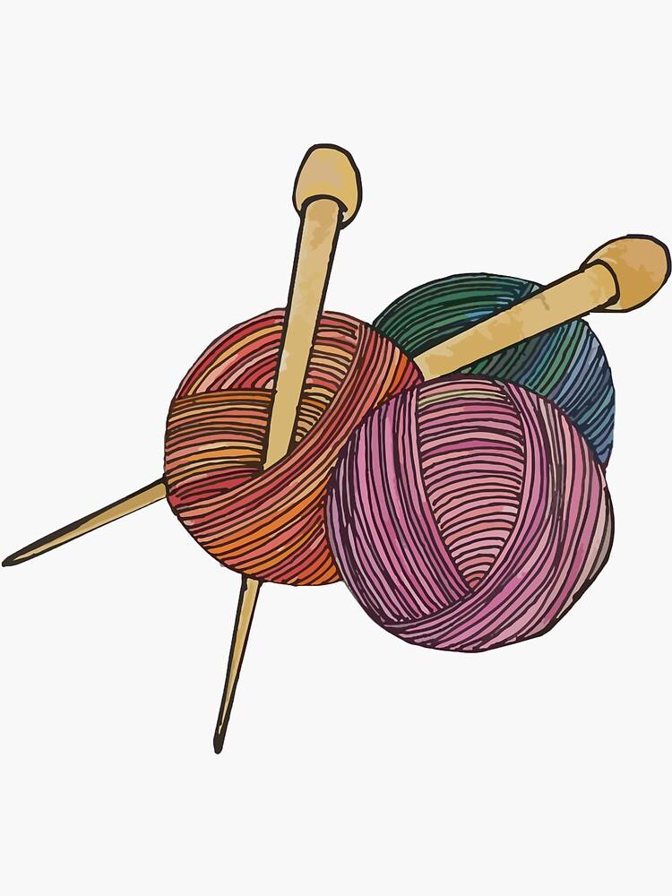 Yarn & Needles by Aliyahjc