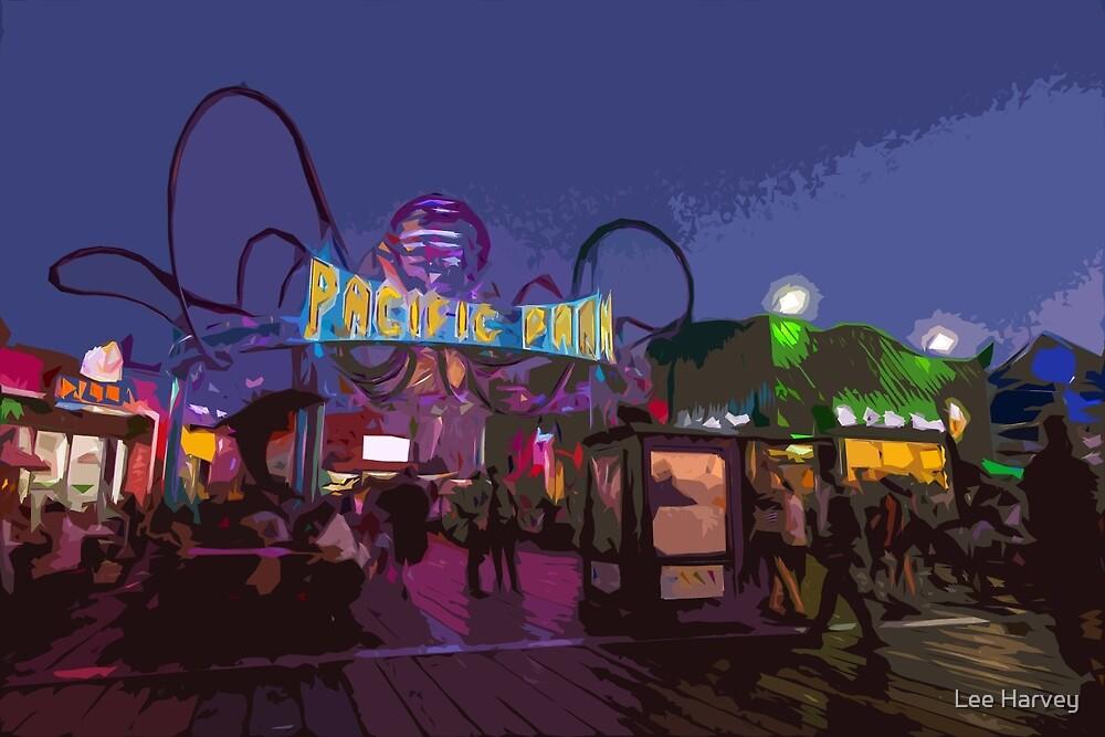 Nightlife on the Pier by Lee Harvey
