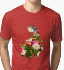 Meganium used petal blizzard Tri-blend T-Shirt