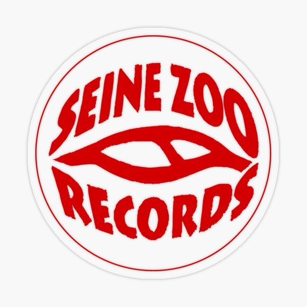 Seine Zoo Records Sticker transparent