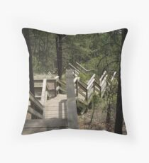 Fintry Stairs Throw Pillow