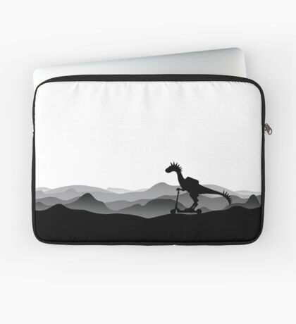 DINO ON SCOOTER - DINOSAUR ON CHILD SCOOTER - Dino collection Laptop Sleeve
