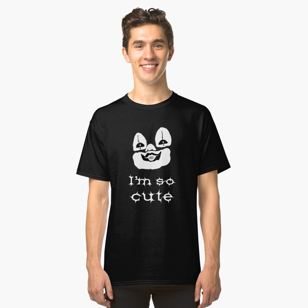 I'm so cute Classic T-Shirt Front