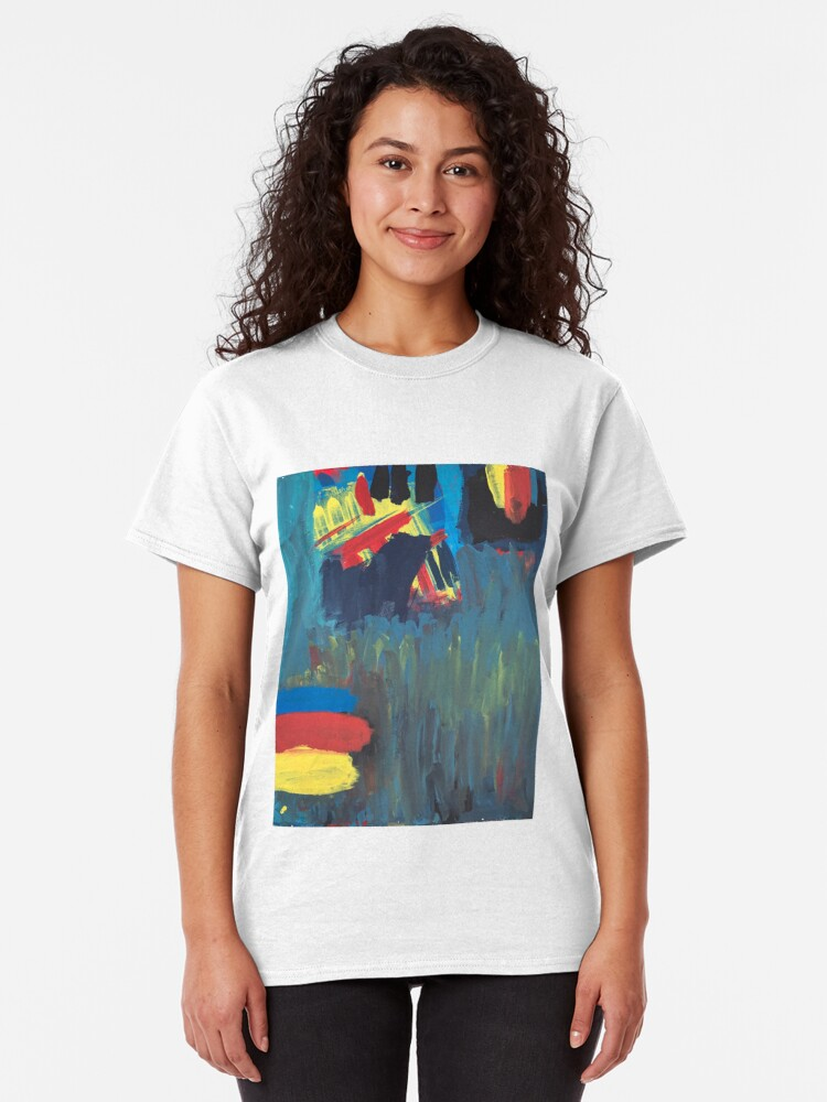 Alternate view of Climbing Trees In the Ocean Classic T-Shirt