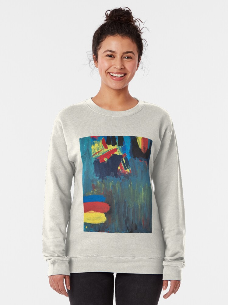 Alternate view of Climbing Trees In the Ocean Pullover Sweatshirt