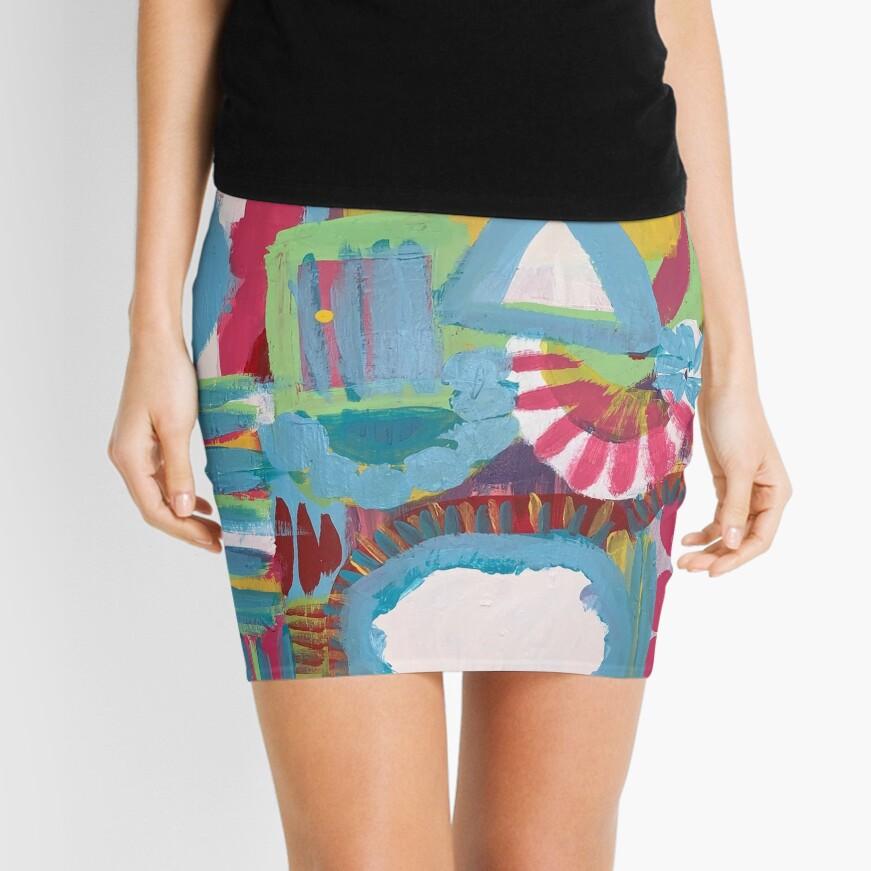 It's Definitely Not East Street Mini Skirt
