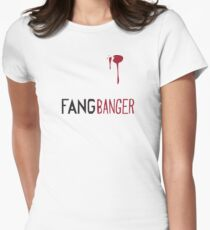 Trueblood - Fangbanger Womens Fitted T-Shirt