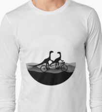 DINO BYCICLE - DINO on bycicle - Dino Collection Long Sleeve T-Shirt