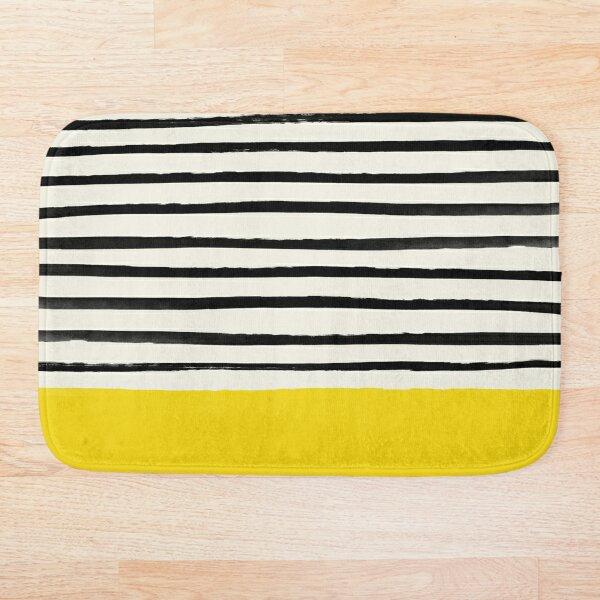 Sunshine x Stripes Bath Mat