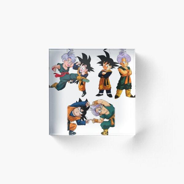 Goten and Trunks sticker 3-Pack Acrylic Block