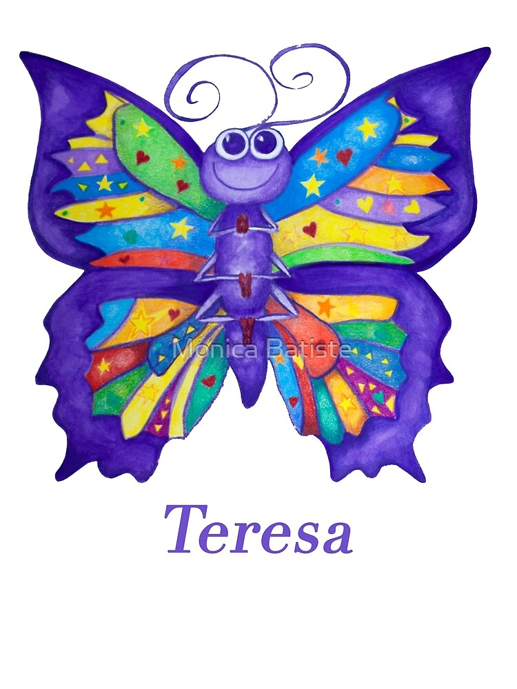 A Yoga Butterfly for Teresa by Monica Batiste