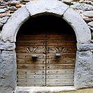 Ancient Italian Doorway... by eithnemythen