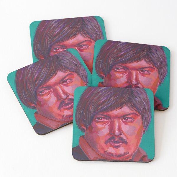 "Mikhail ""Dosia"" Stolyarov Coasters (Set of 4)"