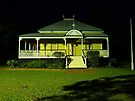 Wynnum Shire Clerk's Cottage by W E NIXON  PHOTOGRAPHY