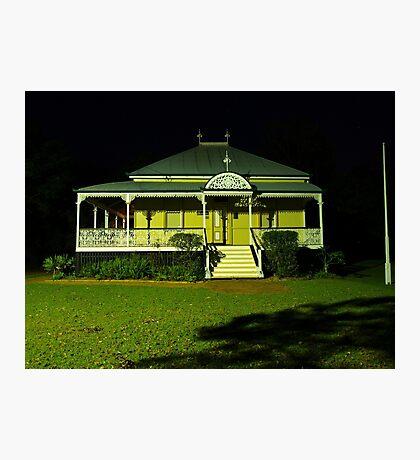Wynnum Shire Clerk's Cottage Photographic Print