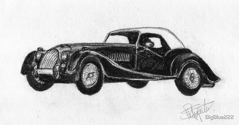 Morgan Roadster - Sports Car by BigBlue222