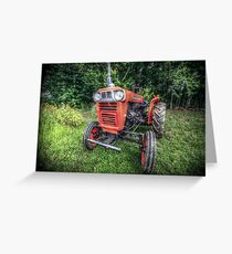 KUBOTA Greeting Card