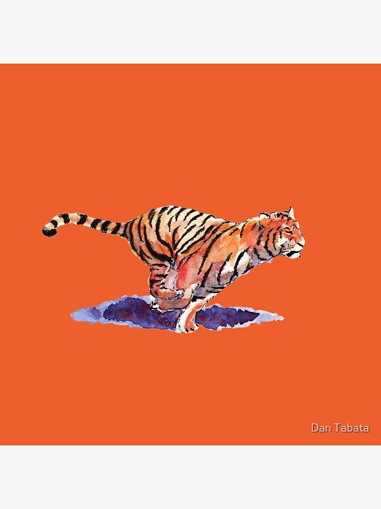 The Tiger - orange version by dmtab