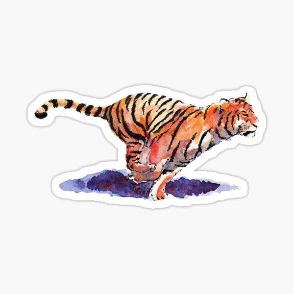 The Tiger - orange version Sticker