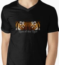 Eyes of the Tiger Mens V-Neck T-Shirt