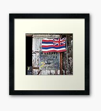 Military HQ. Happy To See You. Framed Print