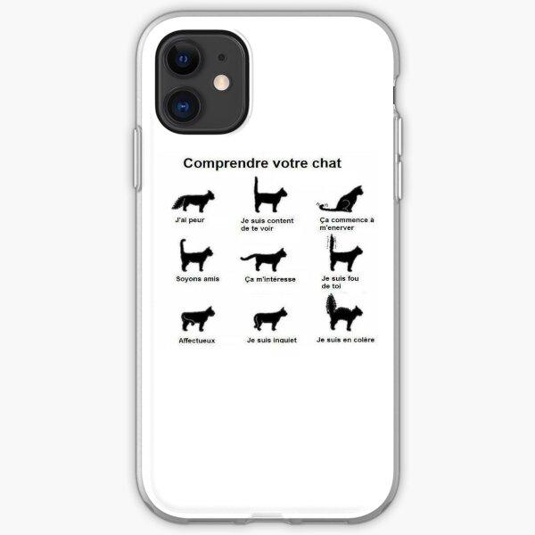understands your cat iPhone Soft Case