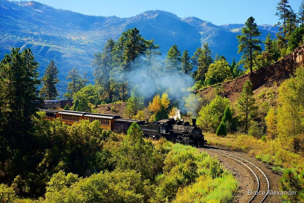 Durango Silverton Railroad by Bruce Alexander