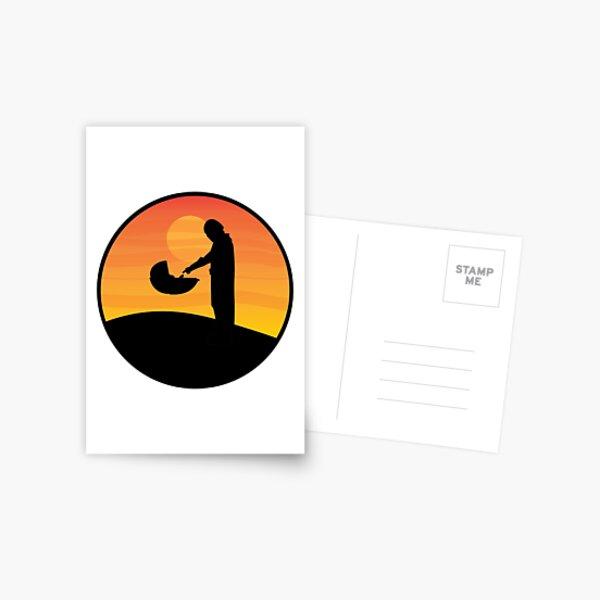 Mando Postcard