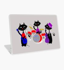 Cool For Cats Music Themed Laptop Skin