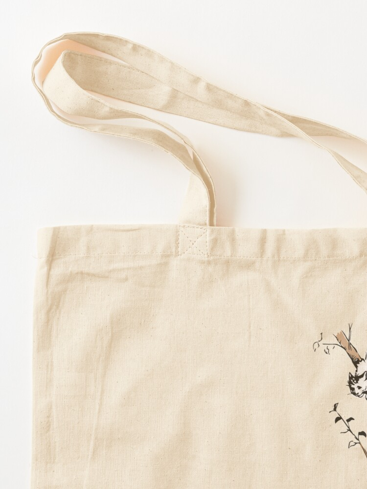 Alternate view of Grinning cat Tote Bag