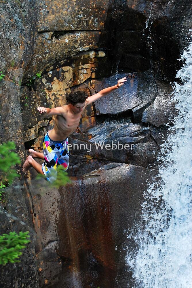 Smalls Falls Leap of Faith #3 by Jenny Webber